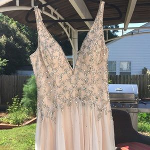 Beautiful prom wedding gown